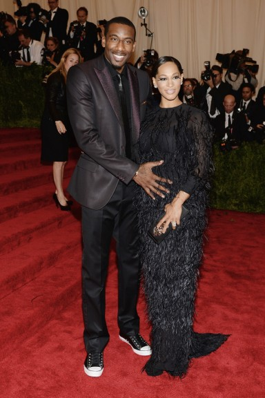Amare and Alexis Stoudemire Met Gala 2013