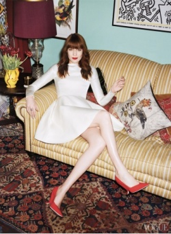 Florence Welch, Rock the Casa, May 2013 US Vogue