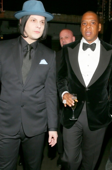 Jack White and Jay-Z 2013 Grammys
