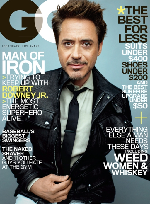 Robert Downey Jr. GQ May 2013s