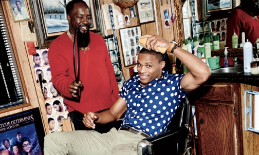 Russell Westbrook January 2013 GQ