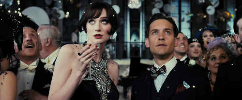 Tobey Maguire and Elizabeth Debicki