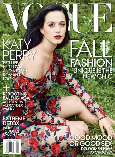 Katy Perry July 2013 US Vogue cover
