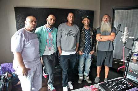 Timbaland Swizz Beatz Jay Z Pharrell Williams Rick Rubin