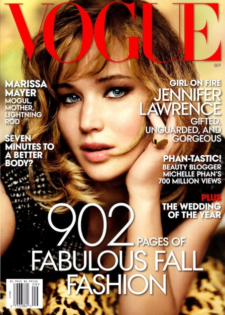 Jennifer Lawrence The September Issue