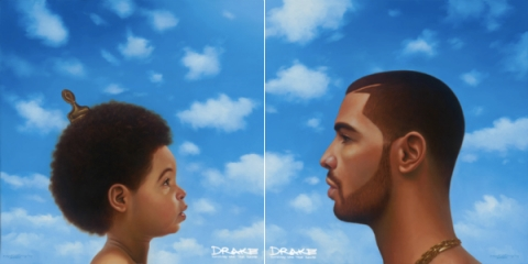 Drake, Nothing Was The Same album artwork.