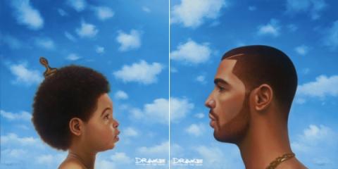 Drake, Nothing Was The Same album artwork.