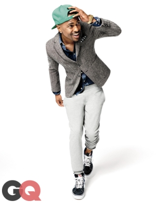 Big Sean, October 2013 GQ.