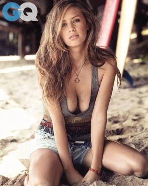 Dylan Penn, January 2014, GQ