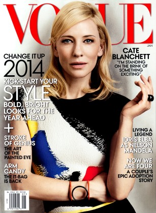 Cate Blanchett, US Vogue January 2014