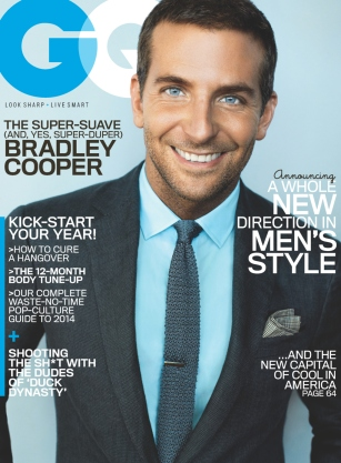 Bradley Cooper, GQ January 2014