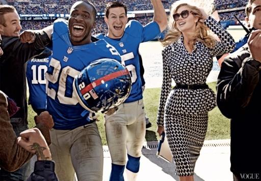 Kate Upton, US Vogue Super Bowl