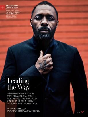 Idris Elba, US Vogue January 2014