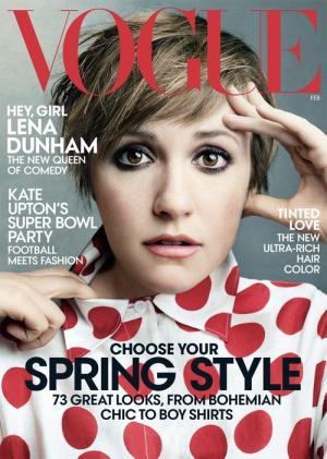 Lena Dunham, US Vogue February 2014