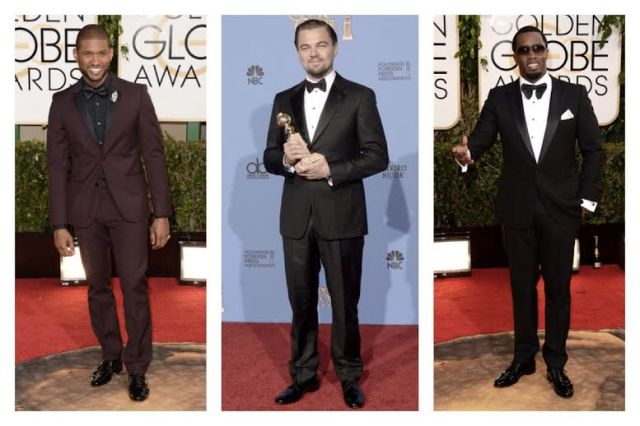 2014 Golden Globes Best Dressed Men