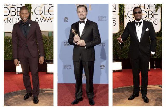 2014 Golden Globes Best Dressed Men