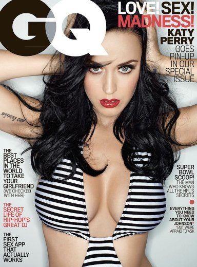 Katy Perry, February 2014 GQ