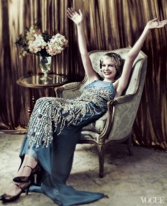 Carey Mulligan as Daisy Buchanan, US Vogue