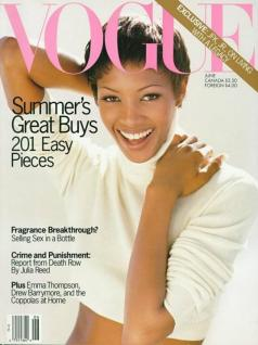 Naomi Campbell June 1993 US Vogue