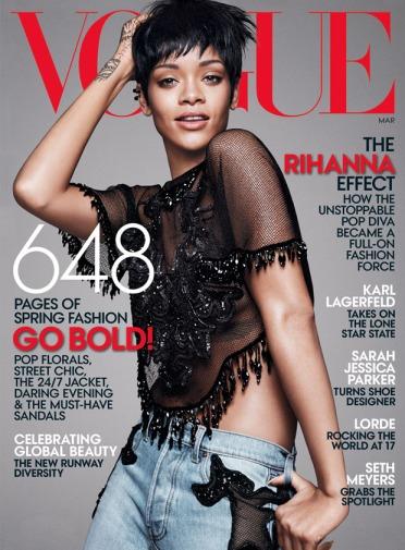 Rihanna US Vogue March 2014