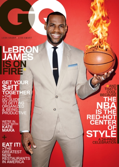 LeBron James GQ March 2014