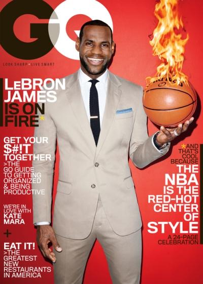 LeBron James GQ March 2014