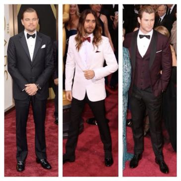 2014 Oscars Best Dressed Men