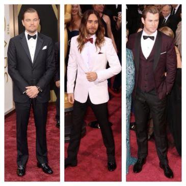 2014 Oscars Best Dressed Men