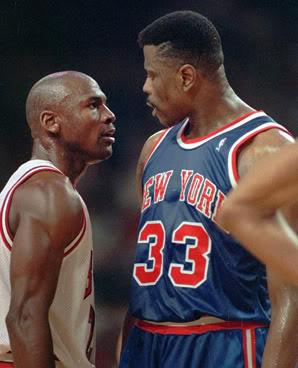 Michael Jordan Patrick Ewing