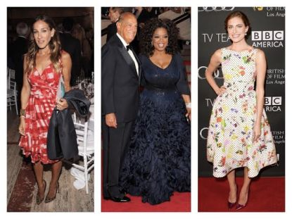 Celebrities in Oscar de la Renta
