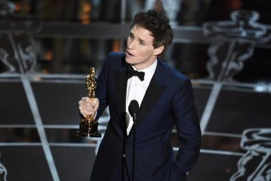Eddie Redmayne, Best Actor, Oscars