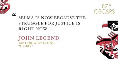 John Legend Oscars Acceptance Speech