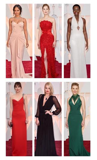 2015 Oscars Best Dressed