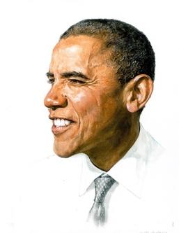 Obama Painting 1